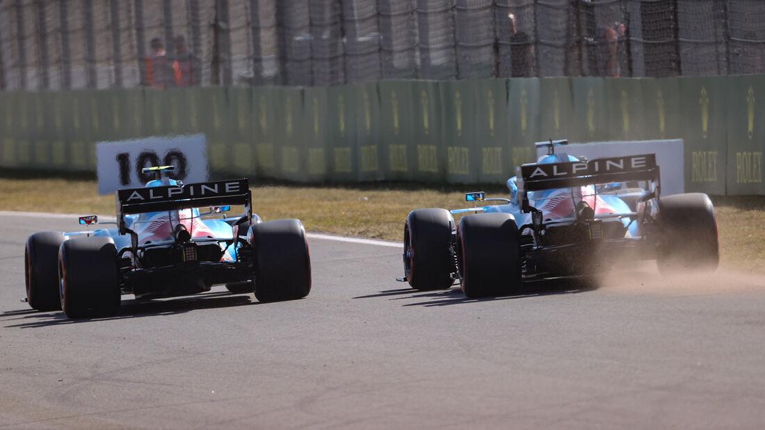 Esteban Ocon & Fernando Alonso - Alpine - Formel 1 - GP Niederlande - 4. September 2021