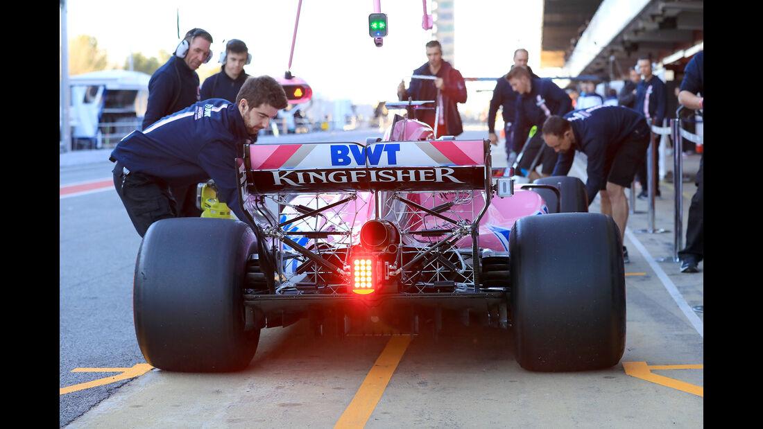 Esteban Ocon - Force India - F1-Test - Barcelona - Tag 5 - 6. März 2018