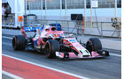 Esteban Ocon - Force India - F1-Test - Barcelona - Tag 8 - 9. März 2018