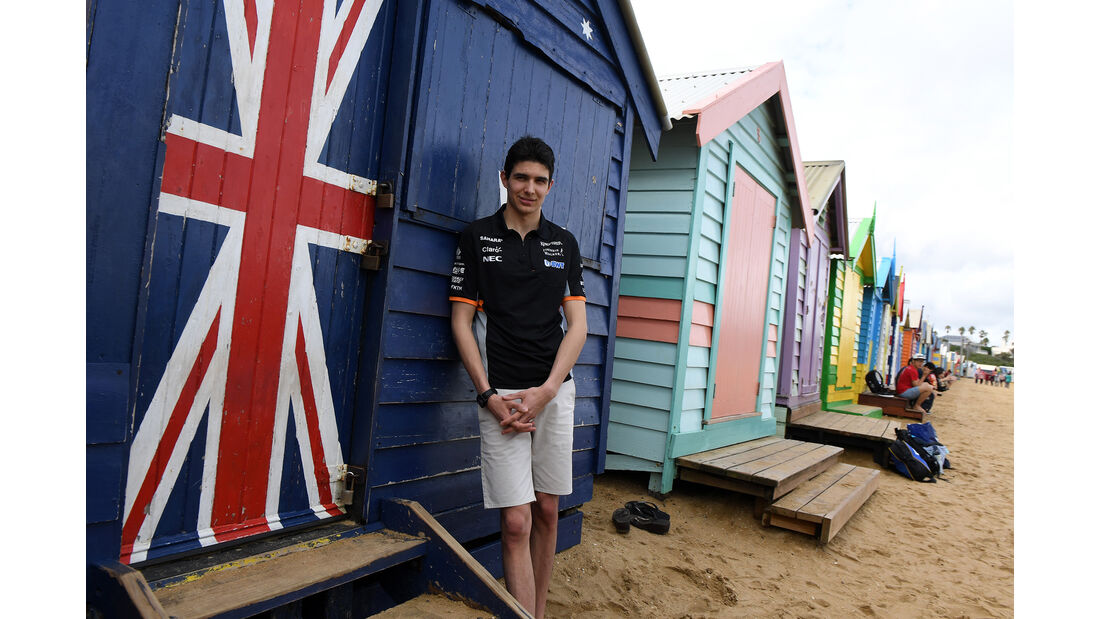 Esteban Ocon - Force India - Formel 1 - GP Australien - Melbourne - 22. März 2017