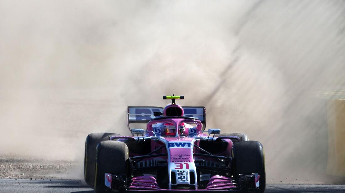 Esteban Ocon - Force India - Formel 1 - GP Australien - Melbourne - 23. März 2018