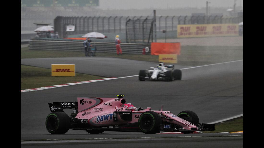 Esteban Ocon - Force India - Formel 1 - GP China - Shanghai - Freitag - 7.4.2017