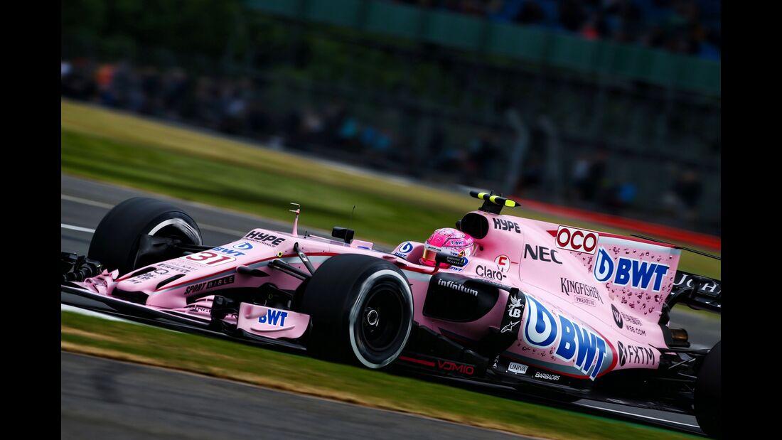 Esteban Ocon - Force India - Formel 1 - GP England - 14. Juli 2017