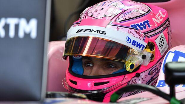 Esteban Ocon - Force India - Formel 1 - GP England - 15. Juli 2017