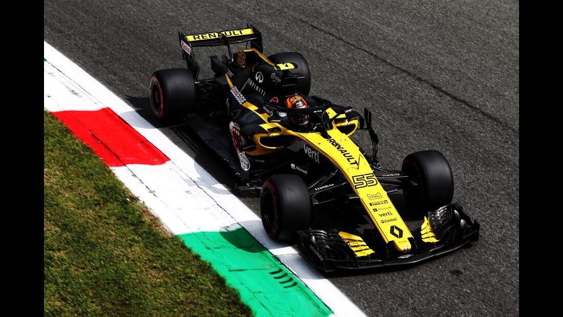 Esteban Ocon - Force India - Formel 1 - GP Italien - 01. September 2018