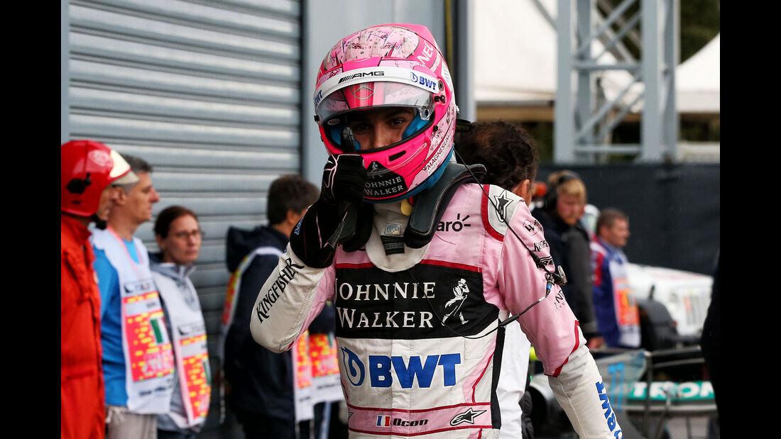 Esteban Ocon - Force India - Formel 1 - GP Italien - Monza - 2. September 2017