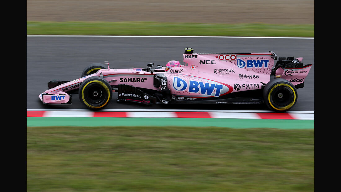 Esteban Ocon - Force India - Formel 1 - GP Japan - Suzuka - 6. Oktober 2017
