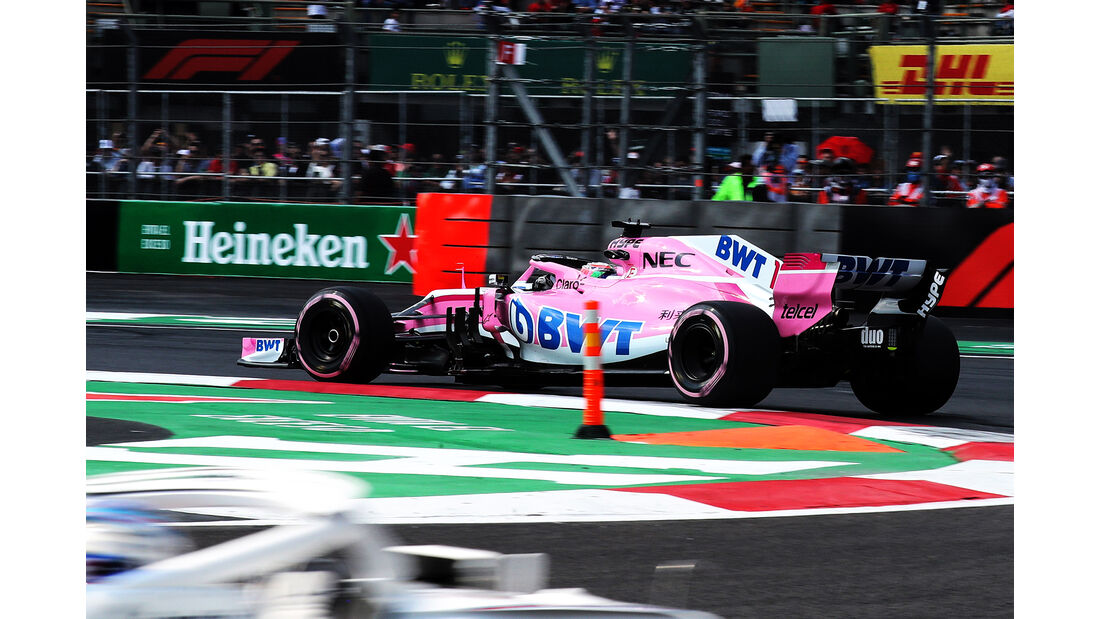 Esteban Ocon - Force India - Formel 1 - GP Mexiko - 26. Oktober 2018