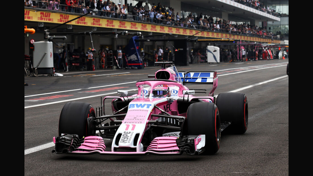 Esteban Ocon - Force India - Formel 1 - GP Mexiko - 27. Oktober 2018