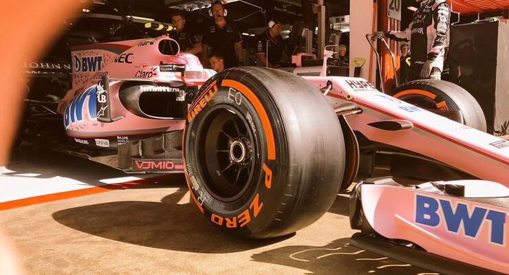 Esteban Ocon - Force India - Formel 1 - GP Spanien - 12. Mai 2017