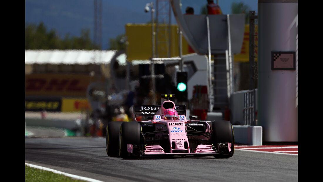 Esteban Ocon - Force India - Formel 1 - GP Spanien - 13. Mai 2017