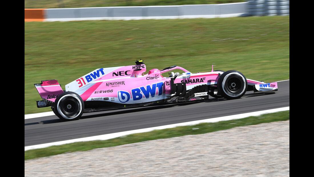 Esteban Ocon - Force India - Formel 1 - GP Spanien - Barcelona - 11. Mai 2018