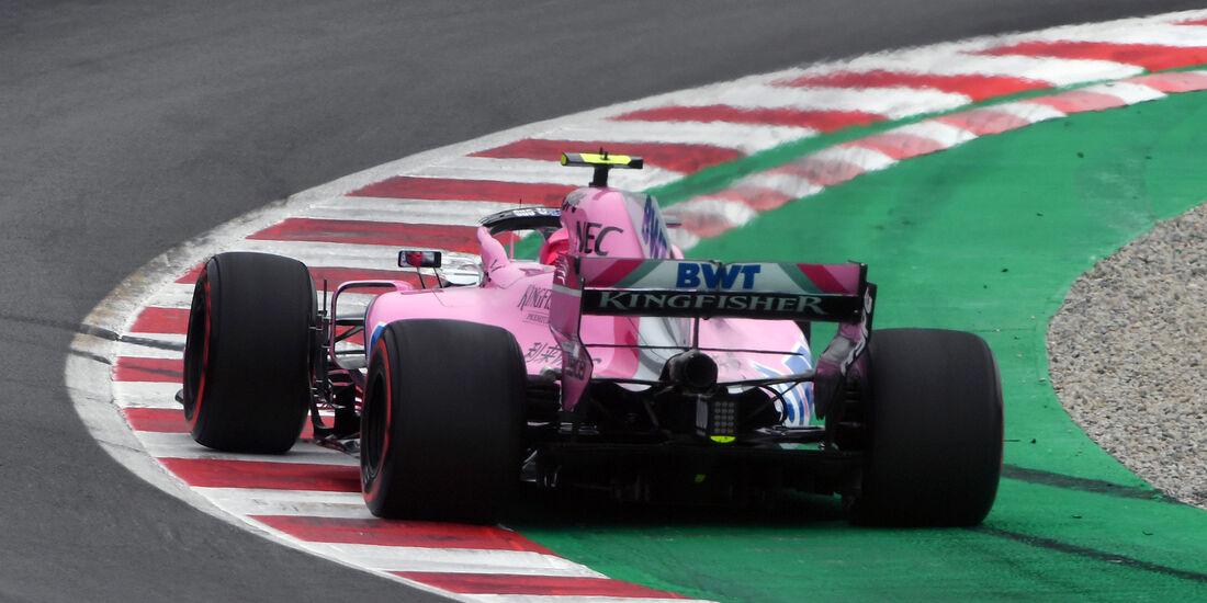 Esteban Ocon - Force India - Formel 1 - GP Spanien - Barcelona - 12. Mai 2018