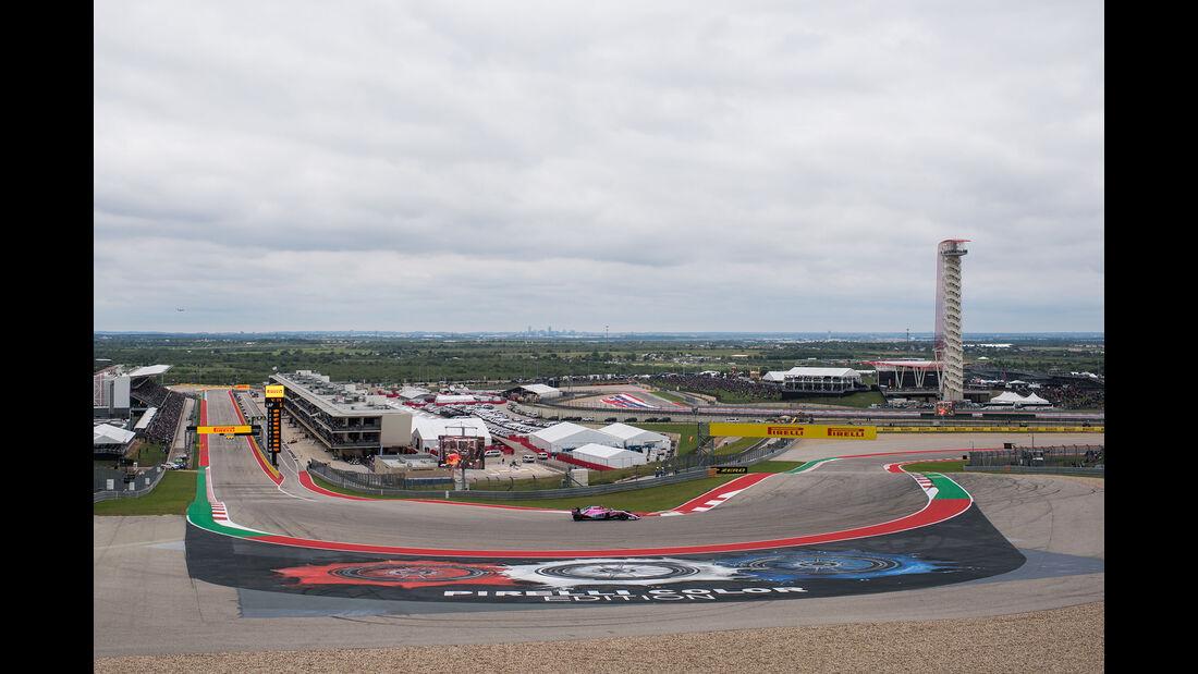 Esteban Ocon - Force India - Formel 1 - GP USA - Austin - 20. Oktober 2018