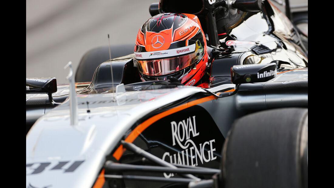 Esteban Ocon - Force India - Formel 1-Test - Barcelona - 13. Mai 2015