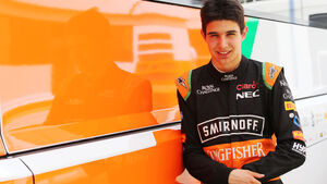 Esteban Ocon - Force India - Formel 1-Test - Barcelona - 13. Mai 2015