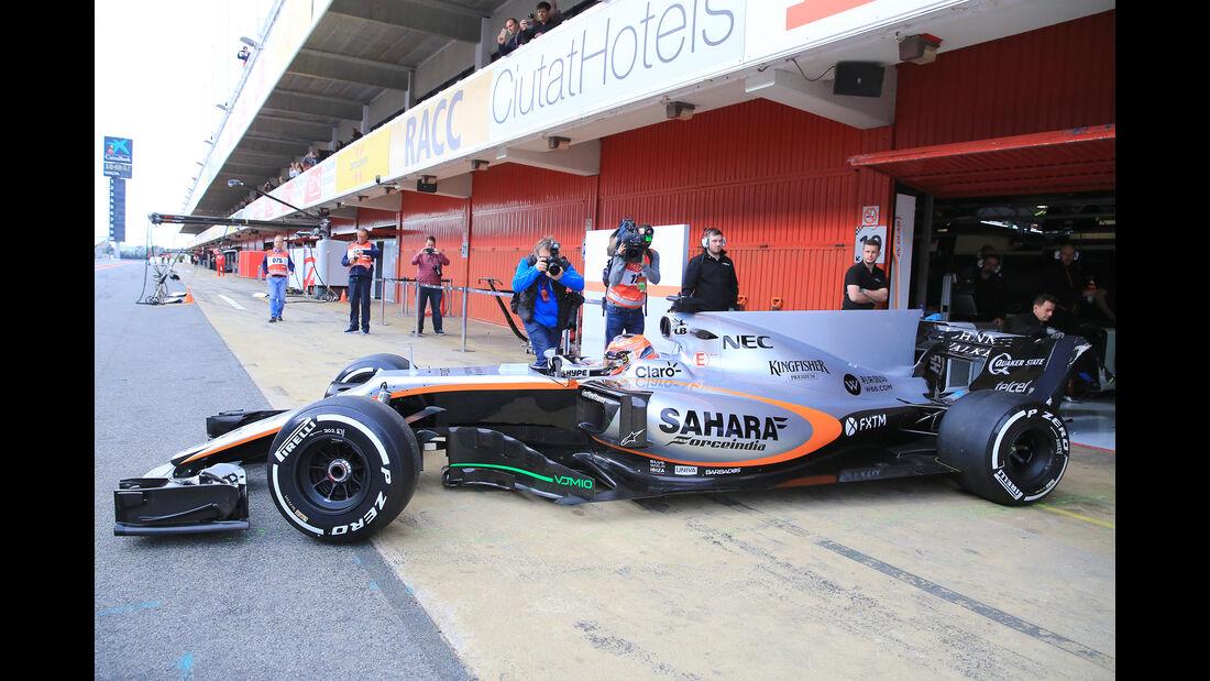 Esteban Ocon - Force India - Formel 1-Test - Barcelona - 28. Februar 2017