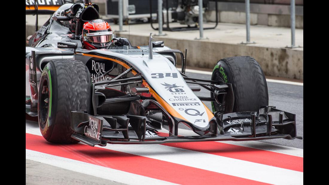 Esteban Ocon - Force India - Formel 1 - Test - Spielberg - 23. Juni 2015