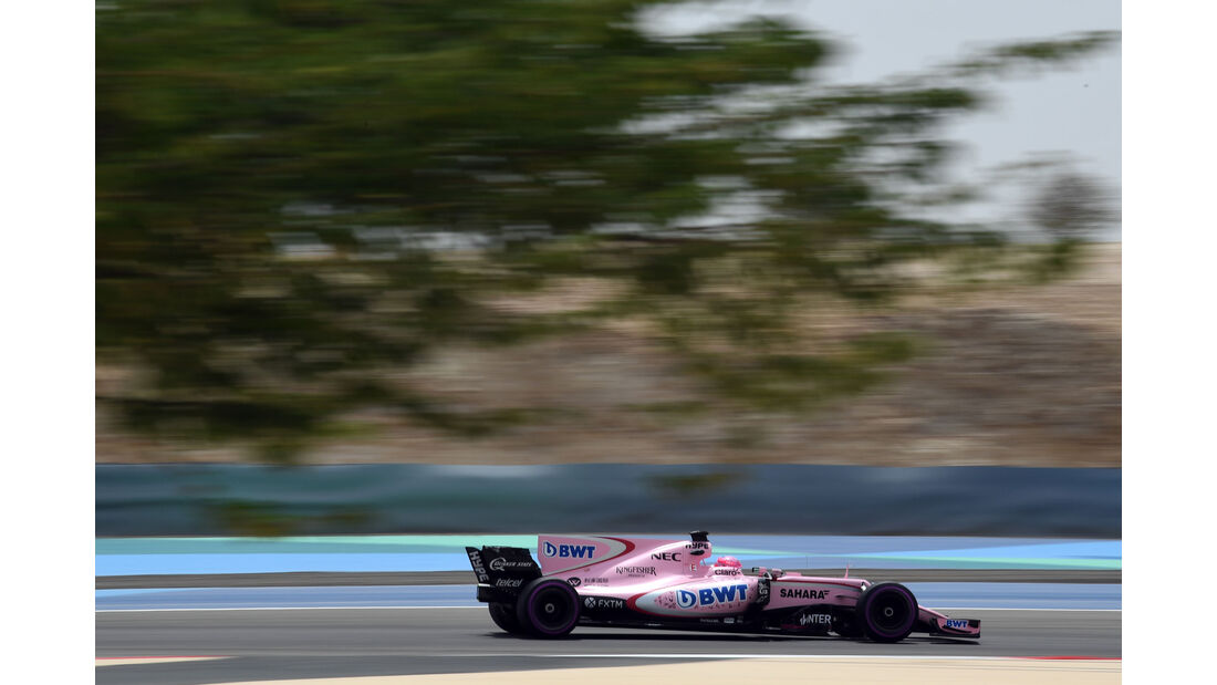 Esteban Ocon - Force India - Formel 1 - Testfahrten - Bahrain - Mittwoch - 19.4.2017
