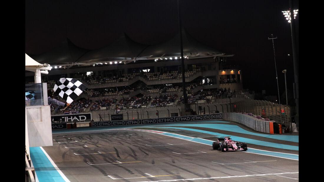 Esteban Ocon - Force India - GP Abu Dhabi - 25. November 2017