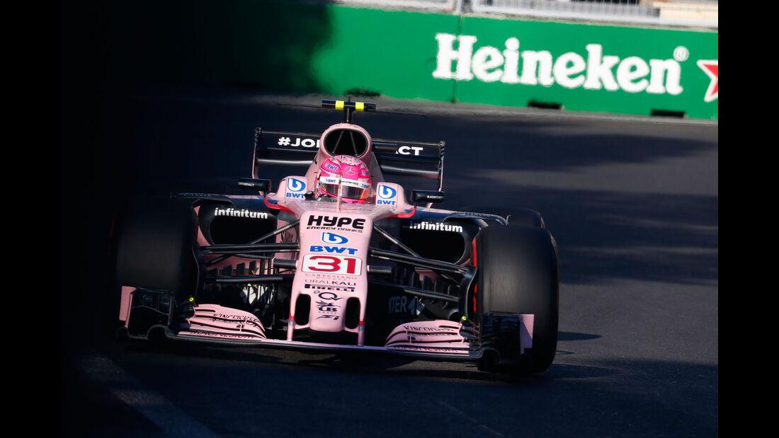 Esteban Ocon - Force India - GP Aserbaidschan 2017 - Baku