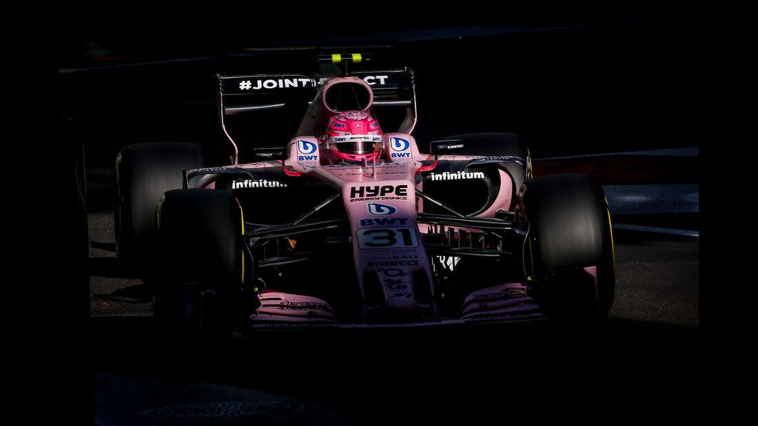 Esteban Ocon - Force India - GP Aserbaidschan 2017 - Baku - Rennen