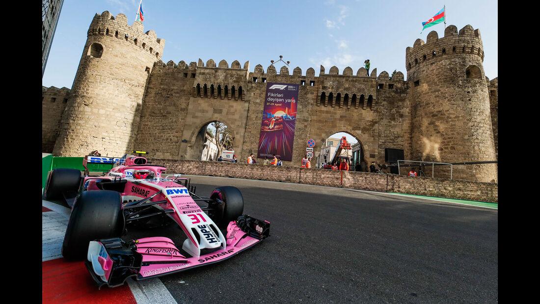 Esteban Ocon - Force India - GP Aserbaidschan 2018
