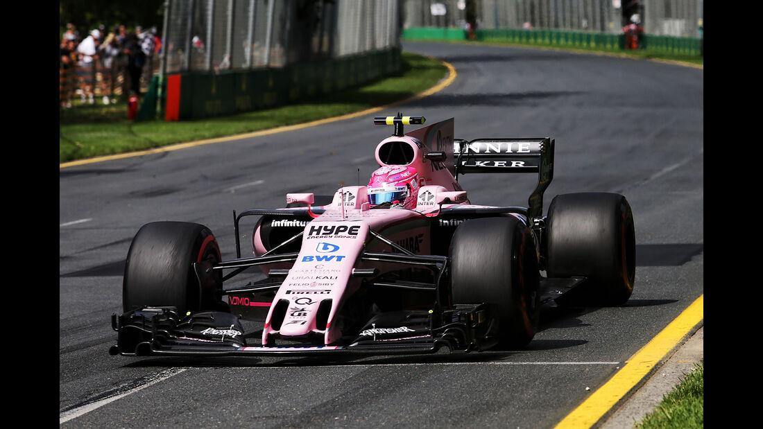 Esteban Ocon - Force India - GP Australien - Melbourne - 24. März 2017