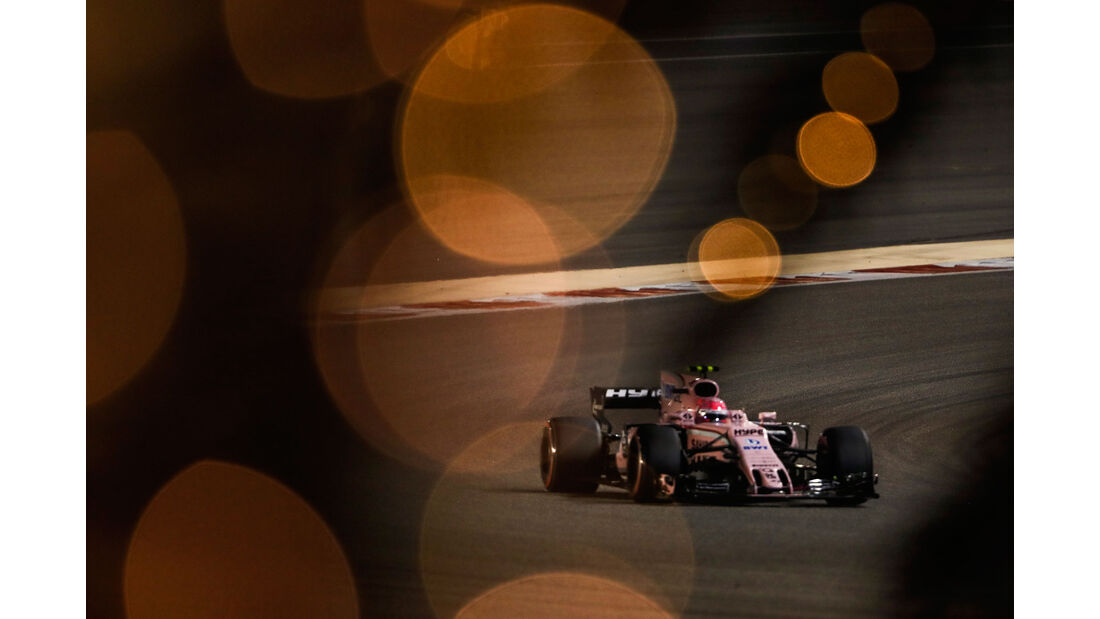 Esteban Ocon - Force India - GP Bahrain 2017 - Qualifying