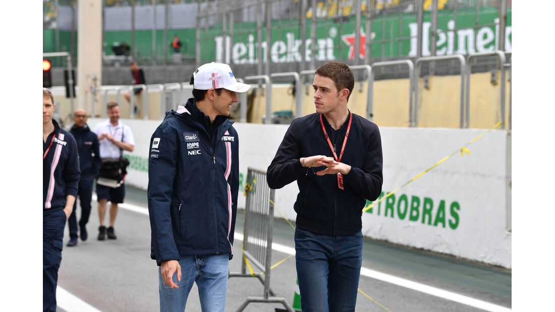 Esteban Ocon - Force India - GP Brasilien - Interlagos - Formel 1 - Donnerstag - 8.11.2018