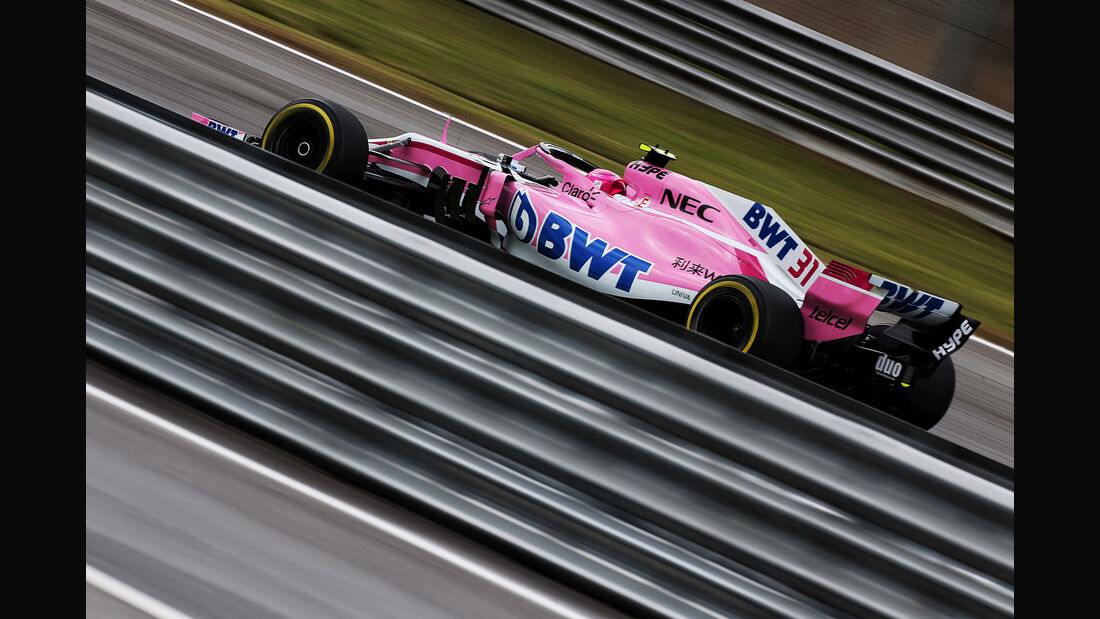Esteban Ocon - Force India - GP Brasilien - Interlagos - Formel 1 - Freitag - 9.11.2018
