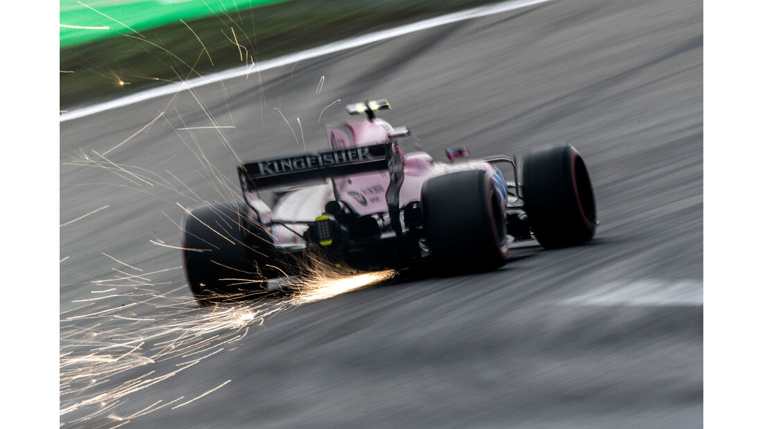 Esteban Ocon - Force India - GP China 2017 - Shanghai - Rennen