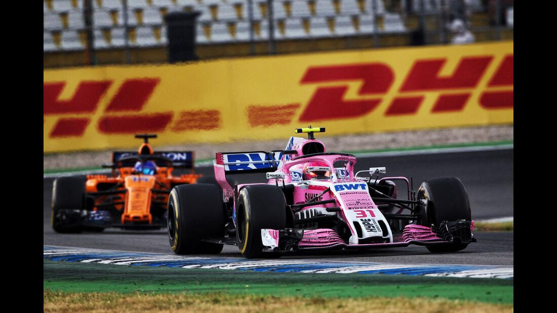 Esteban Ocon - Force India - GP Deutschland 2018 - Rennen