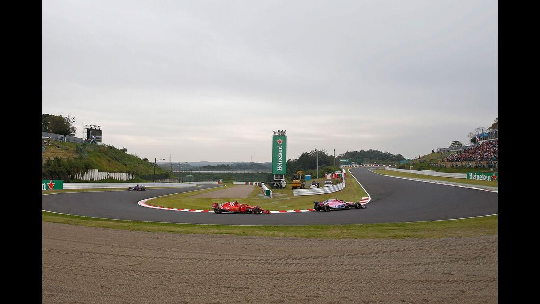 Esteban Ocon - Force India - GP Japan - Suzuka - Formel 1 - Freitag - 5.10.2018