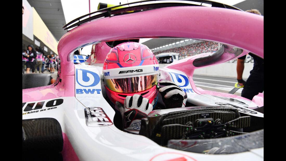 Esteban Ocon - Force India - GP Japan - Suzuka - Formel 1 - Samstag - 6.10.2018