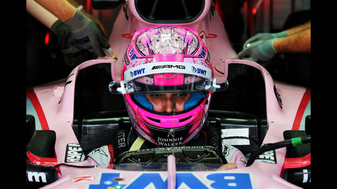 Esteban Ocon - Force India - GP Malaysia - Sepang - 29. Oktober 2017