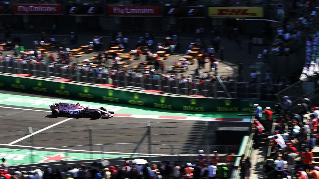 Esteban Ocon - Force India - GP Mexiko 2017 - Formel 1