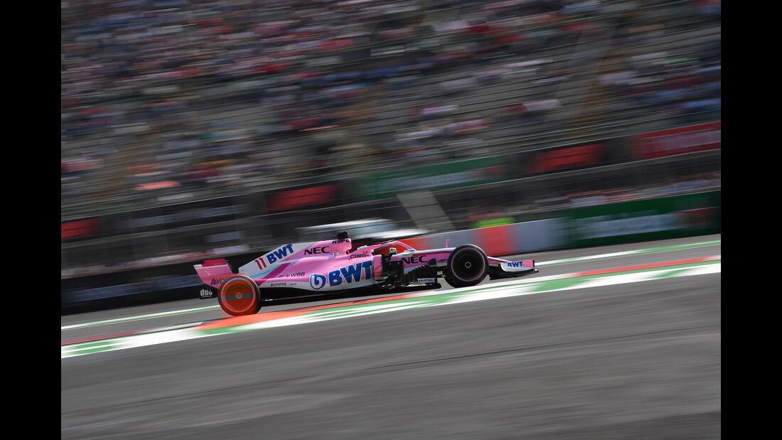Esteban Ocon - Force India - GP Mexiko 2018