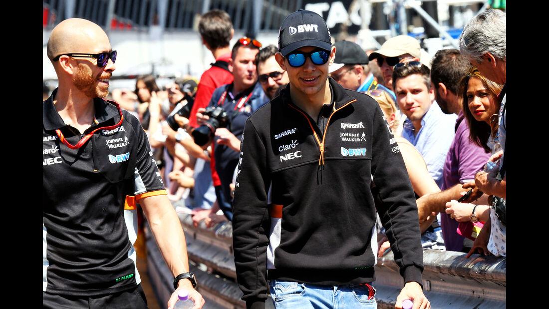 Esteban Ocon - Force India - GP Monaco - Formel 1 - 14. Mai 2017
