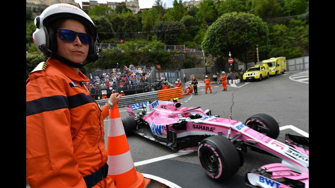Esteban Ocon - Force India - GP Monaco - Formel 1 - Donnerstag - 24.5.2018