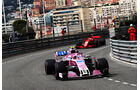 Esteban Ocon - Force India - GP Monaco - Formel 1 - Donnerstag - 24.5.2018