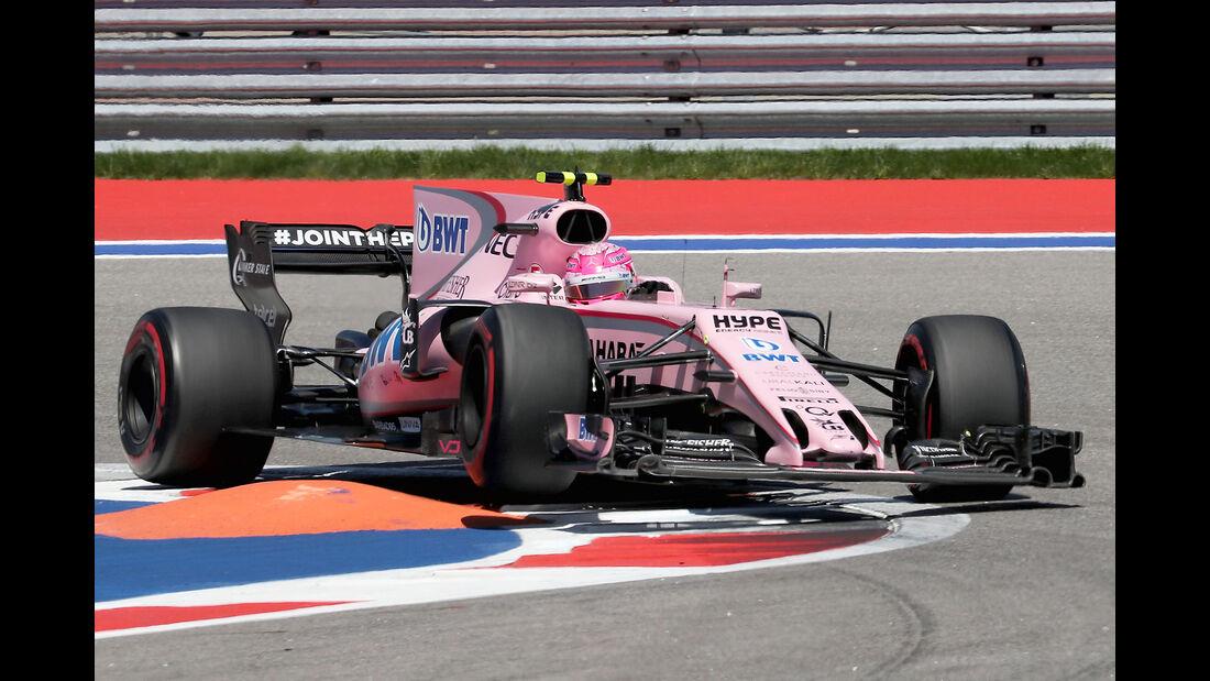 Esteban Ocon - Force India - GP Russland 2017