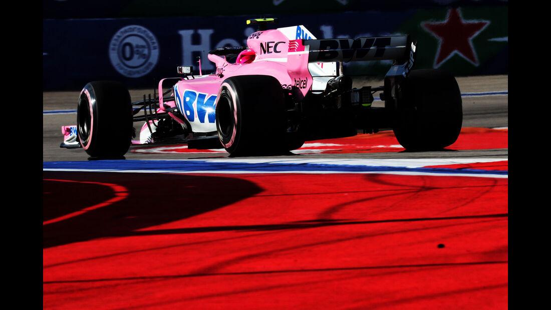 Esteban Ocon - Force India - GP Russland 2018 - Sotschi - Qualifying