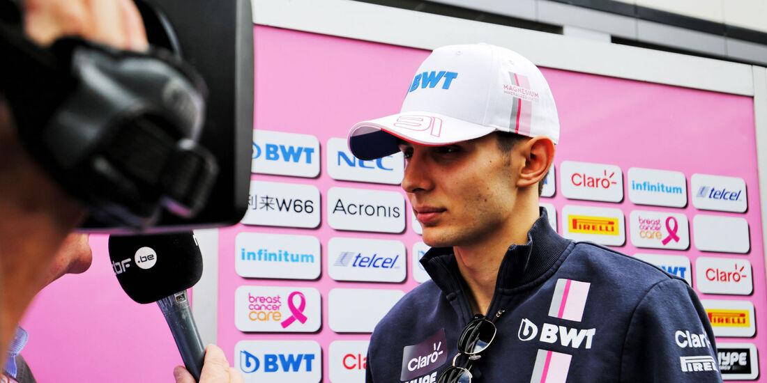 Esteban Ocon - Force India - GP Russland 2018