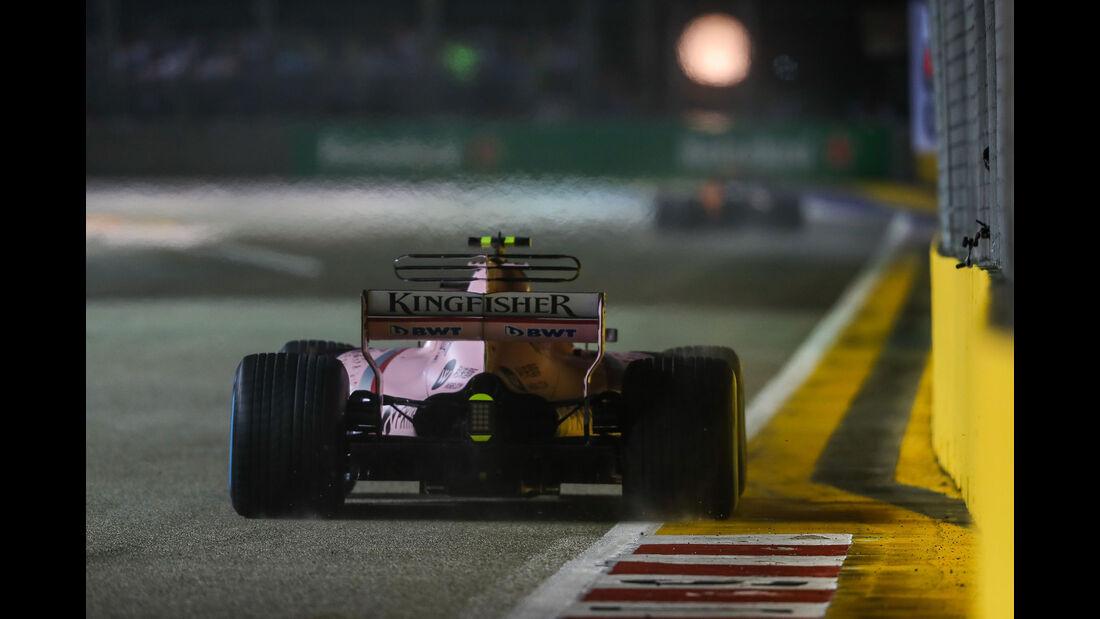Esteban Ocon - Force India - GP Singapur 2017 - Rennen