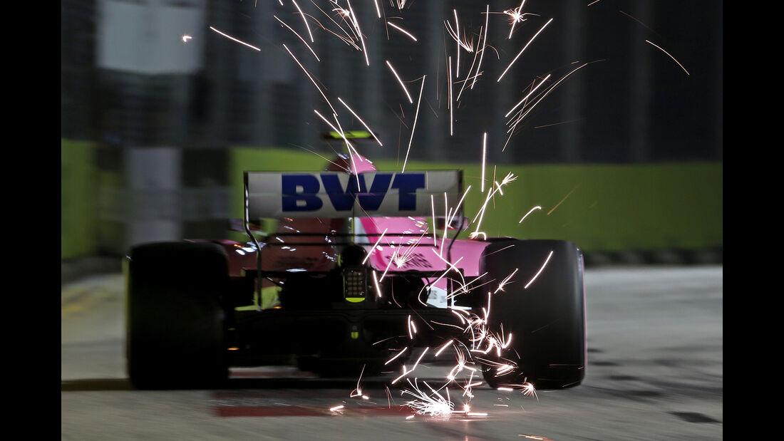 Esteban Ocon - Force India - GP Singapur 2018