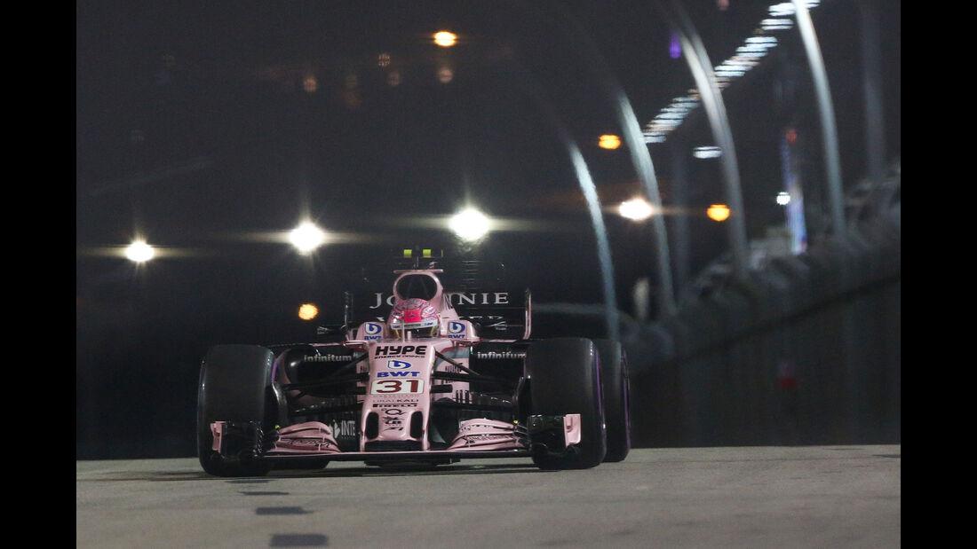 Esteban Ocon - Force India - GP Singapur - Qualifying