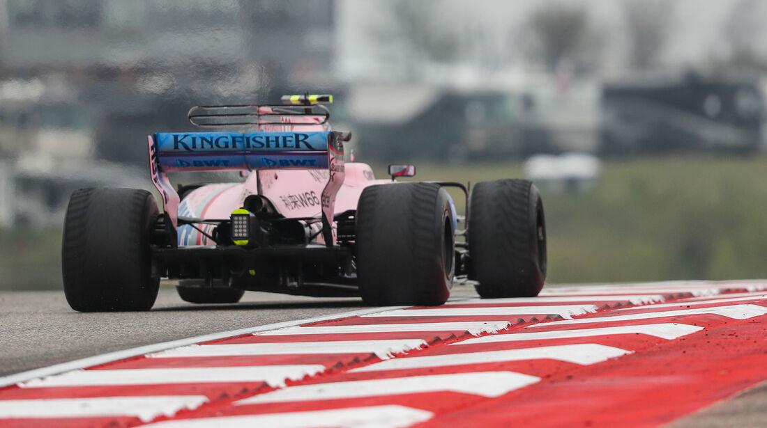 Esteban Ocon - Force India - GP USA - Austin - Formel 1 - Freitag - 20.10.2017