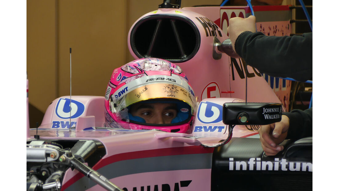 Esteban Ocon - Force India - GP Ungarn 2017 - Budapest - Formel 1 - Donnerstag - 27.7.2017