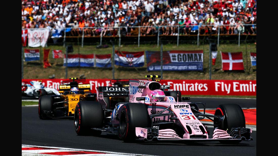 Esteban Ocon - Force India - GP Ungarn 2017 - Budapest